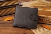 Wholesale 2016 New Designer Men s leather wallet with zipper Man Purse with Coin Pocket Male Card holdercasual men wallets