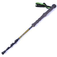 Cheap new Carbon outer lock outdoor super light climbing rod with stick bag Ski mountaineering stick walking stick skiing