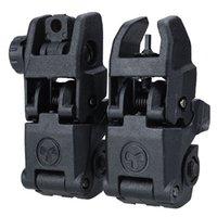 Wholesale 20MM Rail Gen1 Tactical Folding Front Rear Flip Backup Sights
