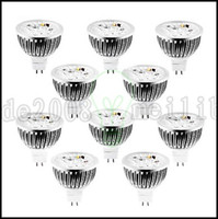 ac dc v - W GU5 MR16 LED Spotlight MR16 High Power LED lm Warm White Cool White Natural White Dimmable DC AC V LLWA146