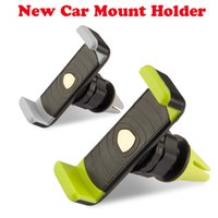 air vent clip - 360 Degree Universal Mini Car Air Vent Clip Mount Holder Rotating for Cellphone phone iPhone s plus S7 edge Note OTH252