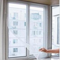Wholesale 2015 Cheap Sale Top Fasion Curtains Cortina Insect Fly Bug Diy Door Window Net Netting Screen Protector White