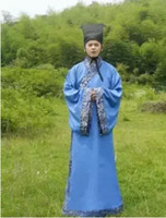 minister clothing - Cheap Chinese ancient Tang Qing Dynasty costume Hanfu minister Costumes suits adult Hanfu clothing photography costumes