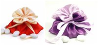 anniversary party favors - Satin Wedding Favors Gifts Bags Candies Jewerly Packing Pouch Holders Boxes Creative Anniversary Birthday Shower Event Party Decoration