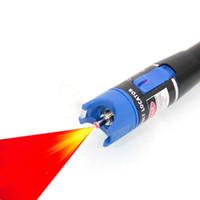 Wholesale Factory direct VFL optical Visual Fault Locator Fiber Optic Cable Red Laser Tester Pen Fiber mw Km Range Optical Fiber Checker