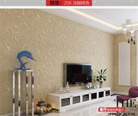 Wholesale new M D Non woven flower wallpaper Bedroom wallpaper