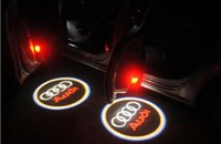 Wholesale 2016 New Style Audi welcome Light A3 A4 A5 A6L A7 A8 Q3 Q7 TT R8 Car door projection lamp Specially Designed For Auto Modification
