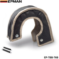 Wholesale EPMAN High Quality Heat Shields T6 turbo charger turbocharger blanket beanie hand made quality guaranteed Black in stock EP TBB T6B