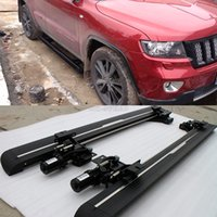 alloy side steps - Aluminum alloy side skirt step pedal for Jeep Grand Cherokee UP