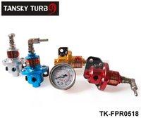 Wholesale SARD Fuel Pressure Regulator Fuel Regulator With white gauge Blue silver golden red TK FPR0518 Have in stock