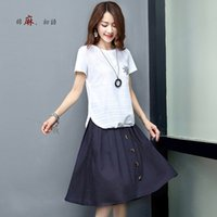 Wholesale Women blouse new style Short sleeve Crew Neck casual white Color Cap sleeve Summer Clothing