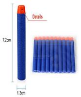 bubble gun - Kids Soft Toy Gun Refill Bullet Darts Blaster Children Soft Elastic Bubble Multicolor Universal EVA Elite Bullet