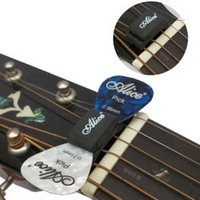 Wholesale 1PC Black Guitar HeadStock Pick Holder Rubber E00377