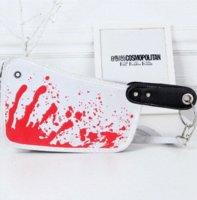 Couteau cuis cuir PU Mode sac à main sac Messenger embrayages Day cadeau créatif sac de rangement bon marché de l'emballage cadeau