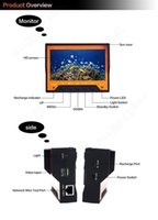 Wholesale WF03 M quot Monitor Wearable Fish Finder Underwater Video Fishing Camera Infrared LED Night Vision Ice Fishing
