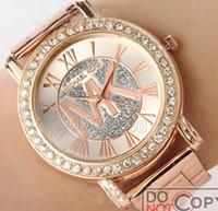 Wholesale MK Michael Kores M K style role wristwatch x watch Stainless Steel bracelet top brand luxury replicas Jewelry wrist men women mens MW05