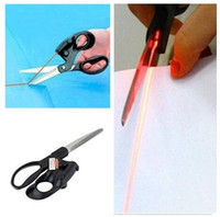 Wholesale Hot sale High Quality sewing laser scissors cuts straight fast laser guided scissors needlework sewing supplies