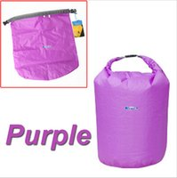 Wholesale New Portable L L L Waterproof Bag Storage Dry Bag for Canoe Kayak Rafting Sports Outdoor Camping Travel Kit Equipment