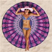 Tapa de mandala india Boho toalla de playa toallas de baño toalla de yoga Mat Arte de pared colgante de manta grande toalla de tiro al aire libre pincnic BKT091
