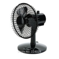 adjustable desk electric - USB mute rotate fan inch wrought iron metal net adjustable wind high quality office desk electric rotatable fan