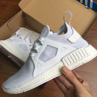 b pin - Originals NMD Runner XR1 Grey red Men and women Sneakers Primeknits New Fashion Male NMD XR1 Pin Stripe Running Shoes nmd Boots