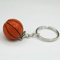 Wholesale A Pair Basketball KeyChain Cell Phone Charms Hangings Accessories Charm Straps