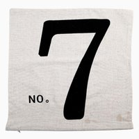Wholesale Square Home Throw Sofa Decorative Simple Pillow Case Cotton linen Cushion Cover