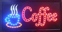 Wholesale 20pcs direct selling X19 inch led sign board semi outdoor Ultra Bright flashing cafe store sign