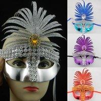 banana mask for face - Newest Powder Banana Leaves Masquerade Mask Venetian Masks T Word Chain Style Halloween Party Carnival Masks
