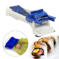 bamboo mat machine - Creative Grape Leaves Cabbage Meat Stuffed Rolling Machine Dolma Sushi Maker Kitchen Roller Tools DIY Roll Sushi Maker A609