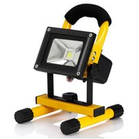 Wholesale USB V W Rechargeable portable LED Flood light warm white cool white IP65 Outdoor spotlight