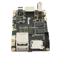 Wholesale ELP Raspberry Pi Model B style ALLWINNER A20 CPU ARM Dual Core mini PC for USB mouse camera ethernet touch panel video streaming