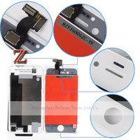 Wholesale for iPhone S g LCD Screen with Touch Screen Digitizer Assembly black and white original