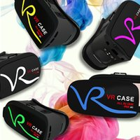 Wholesale VR Box D VR Glasses Headsets VR Case All in Virtual Reality Glasses Goggles Helmet for iPhone7 iPhone6s Android Smart Phones