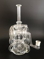 Wholesale 2016New Bong Heady Bong High Huality Glass Bong New Style Good Water Rotating Function Nice looking Amazing Hand Work