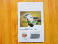 Wholesale 64GB GB Class10 UHS Micro SDXC TF Flash Memory Card for Samsung Galaxy Note5 S6 S7 HTC Smart Phones EVO