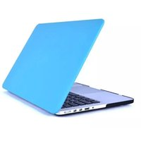 Wholesale PU Leather Laptop Mac Skin Protector Shell Case For Macbook Air Pro Retia inch with Colorful Cover Keyboard Protector