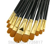 best quality brushes supplies - New best quality nylon hair paint brush gouache watercolor brush oil painting acrylics brush art supplies Pen
