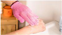 Wholesale Moisturizing Spa Skin Care Cloth Bath Glove Exfoliating Gloves Cloth Scrubber Face Body body bath gloves