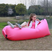 Wholesale Outdoor Convenient Inflatable Lounger Sleeping Compression Air Bag Beach Lounger Portable Dream Chair Air Sleep Sofa Lounge