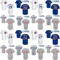 dexter - Mens Chicago Cubs Jerseys Kyle Hendricks Dexter Fowler Joe Maddon Addison Russell Baseball Jersey stitched size S XL