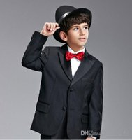 Wholesale Boy formal suit a suit of the latest model the boy s wedding suit the latest collocation can be customized size