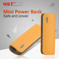 Wholesale WST powerbank mah New Cell Phone Portable Charger mini Gift Universal for xiaomi iphone6 TOP quality DL511