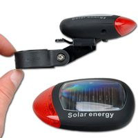 bicycle powered energy - Bicycle Accessories Bicycle Lights New LED Solar Energy Power Bike Bicycle Rear Tail Light Waterproof Lamp