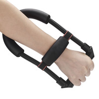 Wholesale Adjustable Power Wrist Device Forearm Force Flexor Strength Hand Gripper Efficient Training Tool Exerciser Steel Spring order lt no track