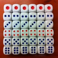 bar magic tricks - 50pcs pack Magic Tricks Standard Dices Holiday Sale Enlightment Game Toy Club Bar Drinking Gambling Amusing Tools Toys PY007