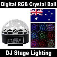 Wholesale DMX512 RGB LED Stage Light Lighting Bar Party DJ Disco Crystal Magic Ball Effect