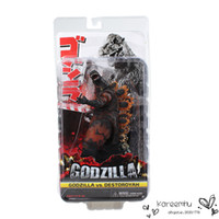 Wholesale 1Pcs NECA Movie Godzilla PVC Action Figure Toys Collectible Model Dolls Toy cm Approx Great Gift