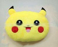 Cheap EMS Shipping New 35*25*10cm Poke plush Pillow pikachu Pillow Cushion cartoon 14 inches Pikachu Stuffed Animals Pillows dolls
