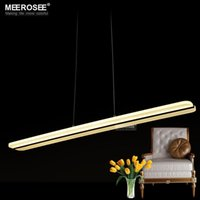 bedroom lamps contemporary - LED Acrylic pendant light Modern White color LED suspension lamp lustre lamparas Home Decoration LED hanging lighting fixture